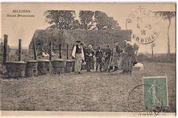 BILLIERS - Noces Bretonnes - CUISINE, TRADITION, FETE, CHARLOT - CPA Pli Angle (HG) Sino  TBon Etat (voir Scan) - Otros Municipios