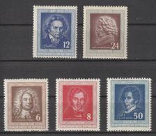 DDR 1952 Nr 52/53 En 60/62 **, Zeer Mooi Lot Krt 4380 - Collezioni (senza Album)