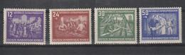 DDR 1952 Nr 55/58 **, Zeer Mooi Lot Krt 4381 - Collezioni (senza Album)
