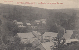 21 - Effours - Hameau De Blanot - Superbe Cliché Du Moulin Pris Du Terreau - Altri Comuni