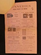 Document Publicitaire Henri Serrin Sonneries Pour Poser Soi Même  Fact4 - United Kingdom