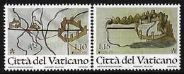 """VATICANO /VATICAN /CITTÀ Del VATICANO - EUROPA 2020 -""""ANTIGUAS RUTAS POSTALES- ANCIENT POSTAL ROUTES.- SERIE De 2 V. - N - 2020"""