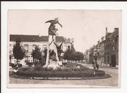 Hamme : 9 Gedenkmaal En Statiestraat 1934 - Hamme