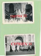 Lot De 9 Photos Anciennes  SAINT DIZIER (Haute Marne)  - Procession De Notre Dame De BOULOGNE  Après La Libération - Lieux
