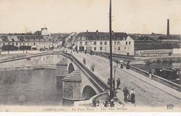 60 - Compiègne - Le Pont Neuf Animé - Hôtel De Flandre - Sport Nautique Compiégnois - Compiegne