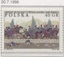 POLAND 1996, Mi 3611 Polish National Anthem, Józef Wybicki, Music, Folk, Song, Polish Legions MNH** - Nuevos