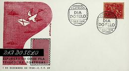 1958. Portugal. Dia Do Selo - Exposição Filatélica - Tag Der Briefmarke