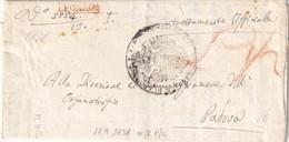 LEGNAGO Per Padova 18.9.1838 - 1. ...-1850 Prefilatelia