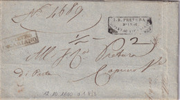 S. PIETRO INCARIANO Per Venezia 12.10.1840 - 1. ...-1850 Prefilatelia