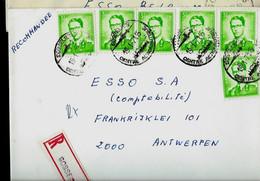 Doc. De GOSSELIES  - Touristiques  Du 19/01/71 En Rec. ( E ) - Landpost (Ruralpost)
