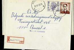 Doc. De HAALTER - A A - Du 28/12/72 En Rec. ( E ) - Landpost (Ruralpost)