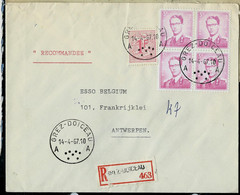 Doc. De GREZ - DOICEAU - A A - Du 14/04/67 En Rec. ( E ) - Rural Post