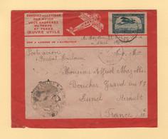 Maroc - Par Avion Latecoere - FM + Avion + 1924 - Lettres & Documents