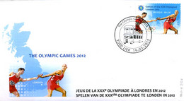 [F8346] 4243 - FDC - Olympische Spelen London 2012 P1739 - 2011-...