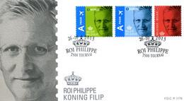 [F8386] 4369/71 - FDC - Z.M. Koning Filip I P1776 - 2011-...