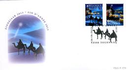 [F8390] 4381/82 - FDC - Kerstmis En Nieuwjaar P1775 - 2011-...