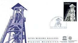 [F8407] 4429 - FDC - De Waalse Mijnsites P1790 - 2011-...
