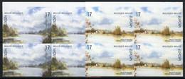 België 2815/16 ON - Europa 1999 - Natuurreservaten - In Blok Van 4 - No Dentado