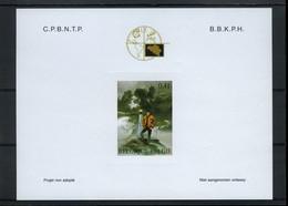 België NA15 - Phileuro 2004 - Internationaal Postzegelsalon - Stripfiguur - BD - XIII -William Vance - 2004 - Non-adopted Trials