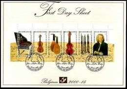 2000-15 - FDS - 2912/17 - B35 - Muziek - Instrumentenmuseum - J. S. Bach - Andere