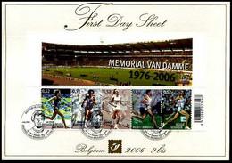 2006-9bis - FDS - BL129 - Sport - Memorial Van Damme - Sonstige