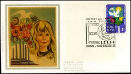 1707 - FDC Zijde - Bescherming Van Het Leefmilieu  #5 - 1971-80