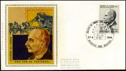 1713 - FDC Zijde - Dag Van De Postzegel  #4 - 1971-80