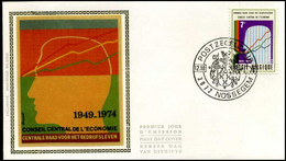 1731 - FDC Zijde - Centr. Raad V/h Bedrijfsleven  #6 - 1971-80
