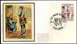 1765 - FDC Zijde - Dag Van De Postzegel  #4 - 1971-80