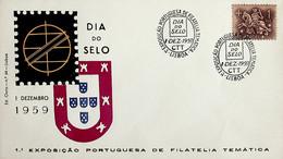 1959. Portugal. Dia Do Selo - 1ª Exposição Portuguesa De Filatelia Temática - Tag Der Briefmarke