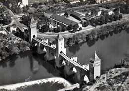 4 CPSM CAHORS 46 Pont Valentré - Cahors