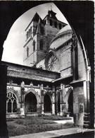 CPSM CAHORS 46 Le Cloître Et La Cathédrale - Cahors