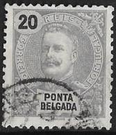 Ponta Delgada – 1897 King Carlos 20 Réis - Ponta Delgada
