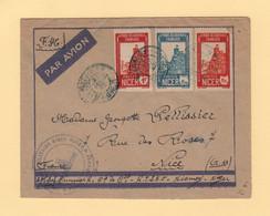 Niger - Niamey - Par Avion Destination France - FM + Avion - 1942 - Covers & Documents