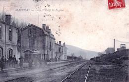 71 - Saone Et Loire - MAZENAY - Gare Et Puits Saint Eugene - Andere Gemeenten