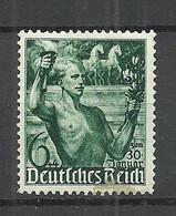 Deutsches Reich 1938 Michel 660 * - Unused Stamps