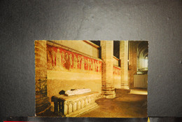 CP  43,  LA CHAISE-DIEU, Le Tryptique De La Grande Danse Macabre Et Le Tombeau Du Pape Clement VI - La Chaise Dieu