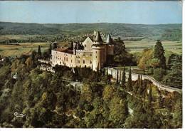 46 Mercuès Vers Cahors N°191 90 83 Très Belle Vue Aérienne Le Château VOIR DOS Postée De MONTCUQ En 1972 - Cahors