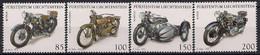 2016 Liechtenstein Mi. 1824-7**MNH   Motorräder - Unused Stamps