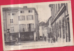 Dépt 88 - CHÂTEL-SUR-MOSELLE - Place De L'Hôtel De Ville - Chatel Sur Moselle
