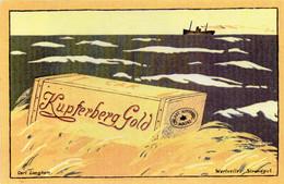 DC4294 - Ak Reklame Kupferberg Gold Wertvolles Strandgut - Advertising