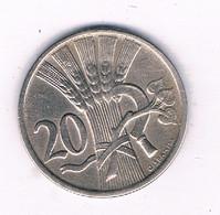 20 HALLER  1921  TSJECHOSLOWAKIJE /9436/ - Czechoslovakia