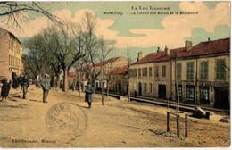 -46-Montcuq-Foirail Des  Boeufs Et Le Boulevard- - Montcuq