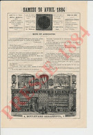 Presse 1884 La Consommation Des Tortues Animal Tortue Publicité Aux Ciseaux D'Argent Boulevard Sébastopol Paris  241/10 - Non Classificati