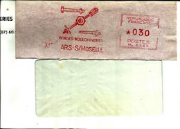 Lettre  EMA Havas 19--  Forges Boulonneries Usines Industrie 57 Ars Sur Moselle  A82/14 - Non Classés