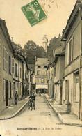 032 971 - CPA - France (10) Aube - Bar-sur-Seine - La Rue Des Fossés - Bar-sur-Seine