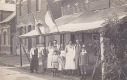 AISNE FLAVY LE MARTEL AU BON ACCUEIL L. GAUDISSIABOIS RUE ROOSVELT CARTE PHOTO - Sonstige Gemeinden