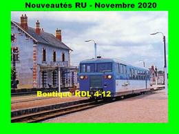 RU 1868 - Autorail Verney X 211 En Gare - GIEVRES - Loir Et Cher - BA - Estaciones Con Trenes