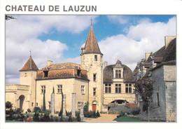 47 - Lauzun - Le Château (XIIIe Et XVIe Siècles) - Other Municipalities