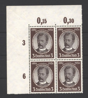 D.R,540ya,Eck-VB,xx - Unused Stamps